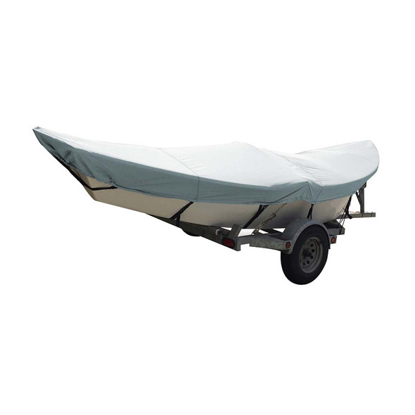 Carver Poly-Flex II Styled-to-Fit Boat Cover f\/16 Drift Boats - Grey [74300F-10]