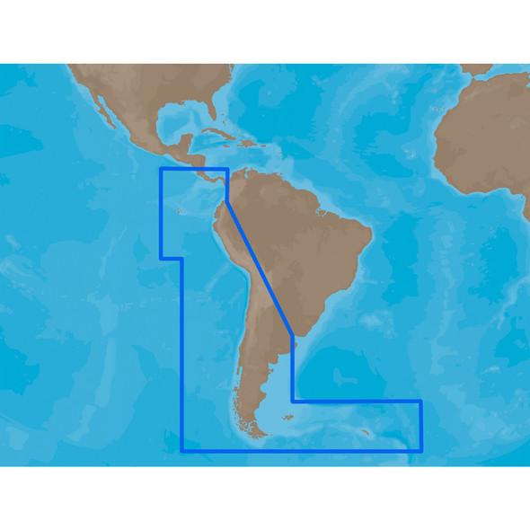 C-MAP MAX SA-M500 - Costa Rica-Chile Falklands - SD Card [SA-M500SDCARD]