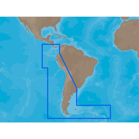 C-MAP MAX SA-M500 - Costa Rica-Chile-Falklands - C-Card [SA-M500C-CARD]