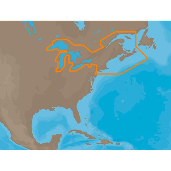 C-MAP MAX NA-M026 - Great Lakes & The Maritimes - SD Card [NA-M026SDCARD]