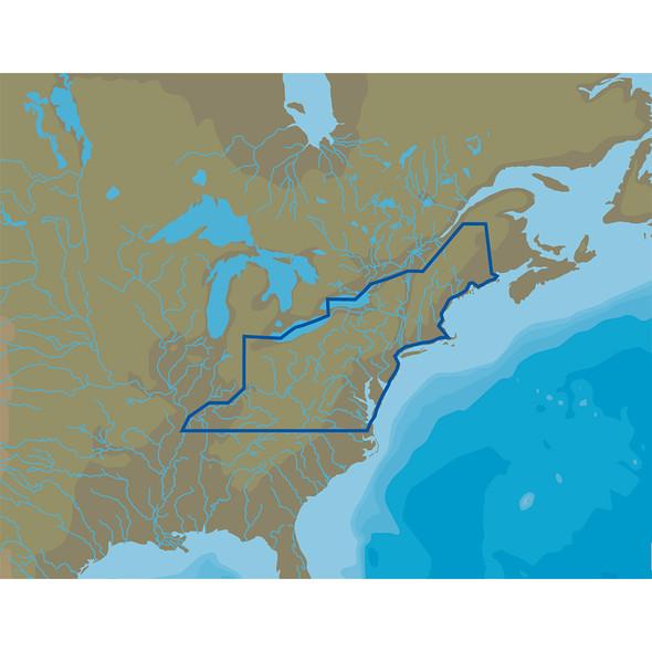 C-MAP 4D Lakes NA-D073 North East [NA-D073]