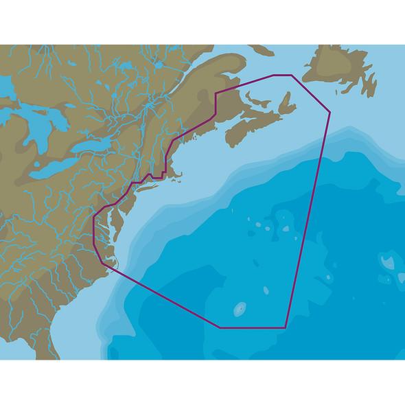 C-MAP 4D NA-D062 Nova Scotia to Chesapeake Bay - microSD\/SD [NA-D062]
