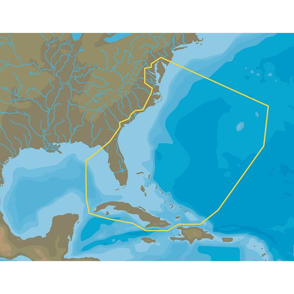 C-MAP 4D NA-063 Chesapeake Bay to Cuba - microSD\/SD [NA-D063]