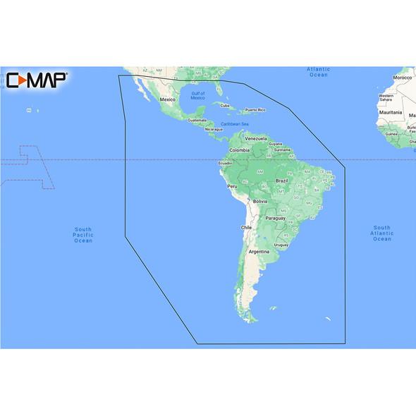 C-MAP M-SA-Y038-MS Discover South America  Caribbean [M-SA-Y038-MS]