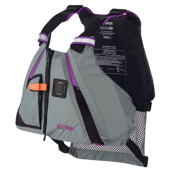 Onyx MoveVent Dynamic Paddle Sports Vest - Purple\/Grey - Medium\/Large [122200-600-040-18]
