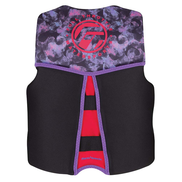 Full Throttle Youth Rapid-Dry Flex-Back Life Jacket - Pink\/Black [142500-105-002-22]