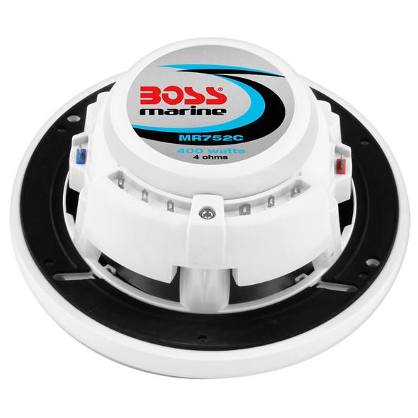 """Boss Audio MR752C 7.5"""" 2-Way Marine Speakers - (Pair) White [MR752C]"""