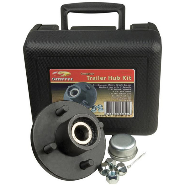 "C.E. Smith Trailer Hub Kit Package 1-1/16"" Stud 4 x 4 [13109]"