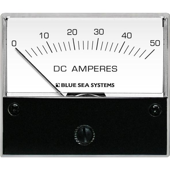 Blue Sea 8022 DC Analog Ammeter - 2-3/4 Face, 0-50 Amperes DC [8022]