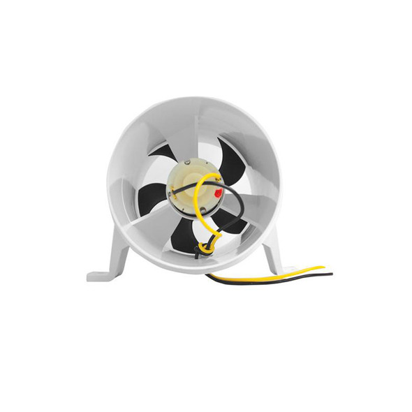 Attwood Turbo 4000 Series II Water-Resistant, In-Line Blower - 12V - White [1749-4]
