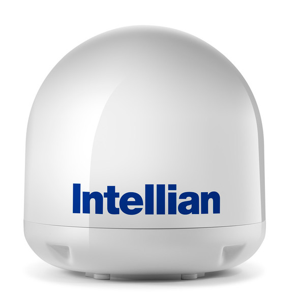 Intellian i3 Empty Dome & Base Plate Assembly [S2-3108]