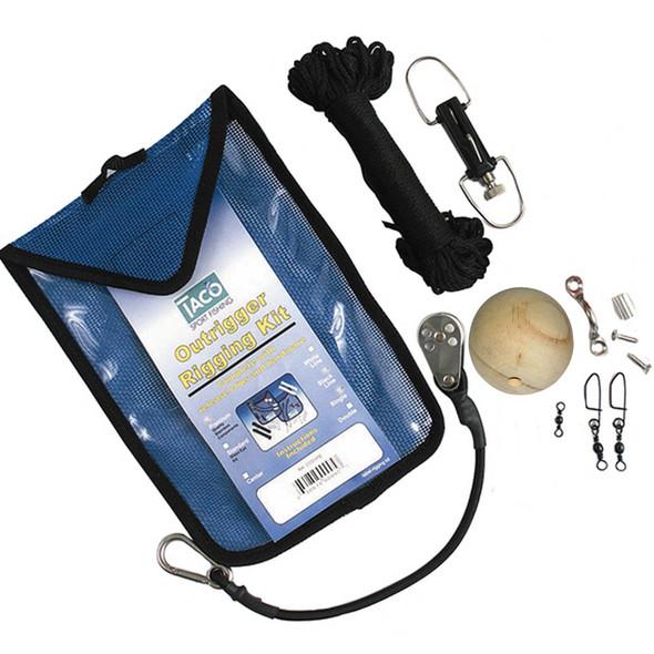 TACO Premium Center Rigging Kit f\/Up to 25' Pole [RK-0001PCB]
