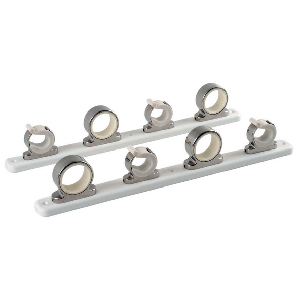 TACO 4-Rod Hanger w\/Poly Rack - Polished Stainless Steel [F16-2752-1]