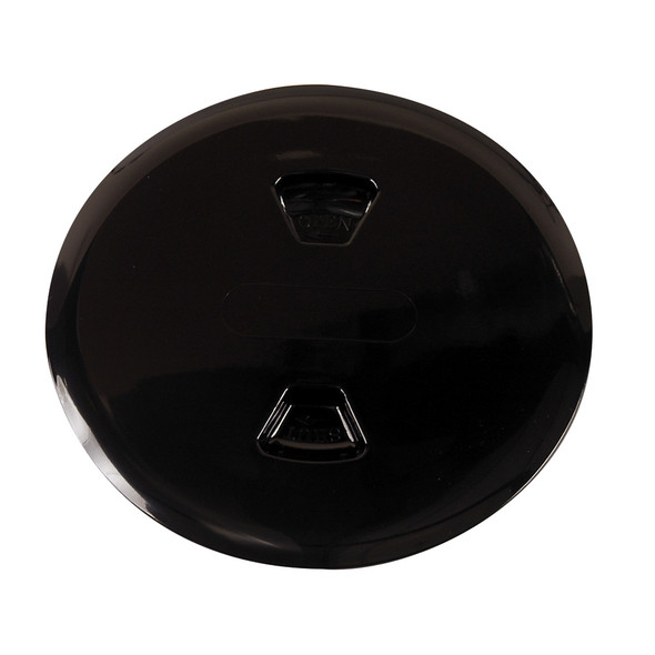 "Beckson 5"" Twist-Out Deck Plate - Black [DP50-B]"