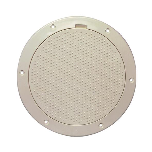 "Beckson 6"" Non-Skid Pry-Out Deck Plate - Beige [DP63-N]"