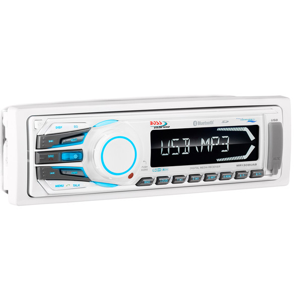 Boss Audio MR1308UAB MP3\/AM\/FM\/USB\/SD Bluetooth Receiver [MR1308UAB]