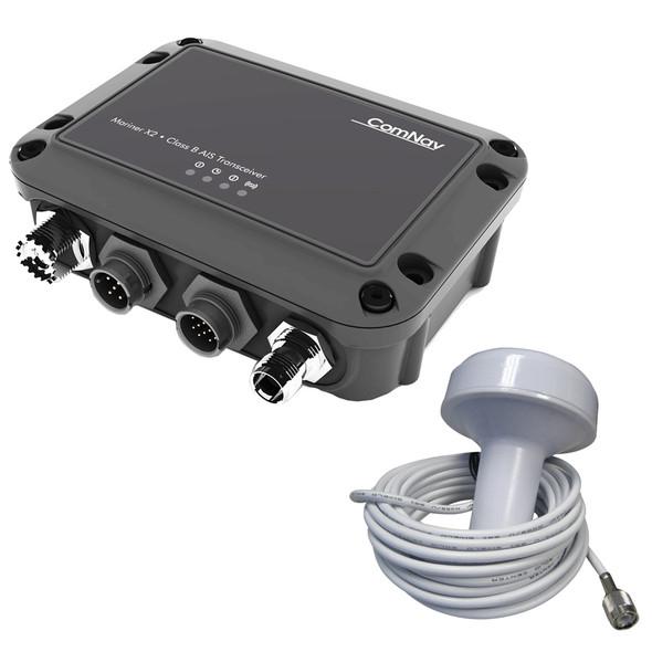 ComNav Mariner X2 AIS Class B Transceiver w\/External GPS - Must Be Programmed [11410001]