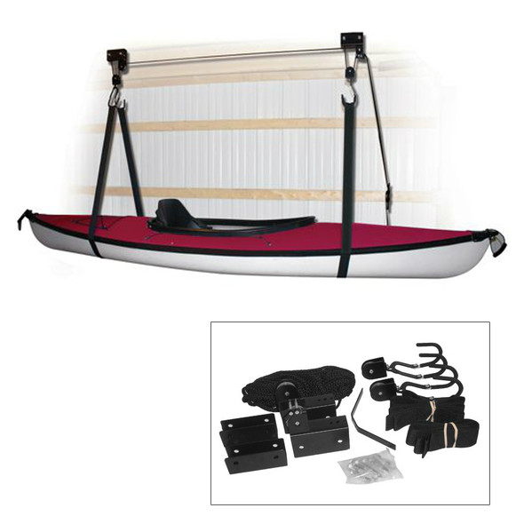 Attwood Kayak Hoist System - Black [11953-4]