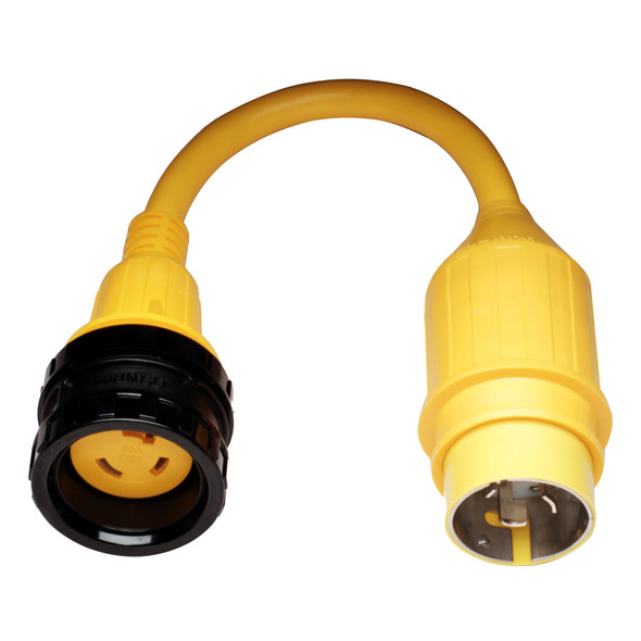 Marinco 110A Pigtail Adapter - 30A Female to 50A Male [110A]