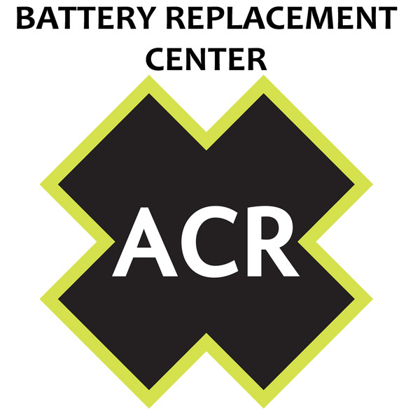 ACR FBRS 2842 Battery Replacement Service - Globalfix iPRO [2842.91]