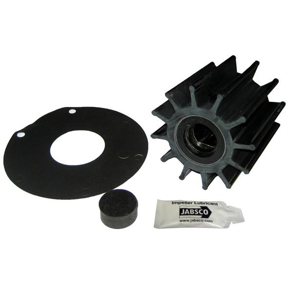 """Jabsco Impeller Kit - 12 Blade - Neoprene - 3-"""" Diameter - Plastic Insert - Double Flat Drive [17370-0001-P]"""