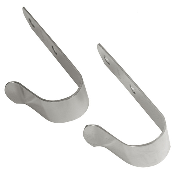 "Whitecap Boat Hook Holder - 304 Stainless Steel - 4-1\/4"" x 1"" - Pair [S-503C]"
