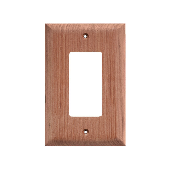 Whitecap Teak Ground Fault Outlet Cover\/Receptacle Plate - 2 Pack [60171]