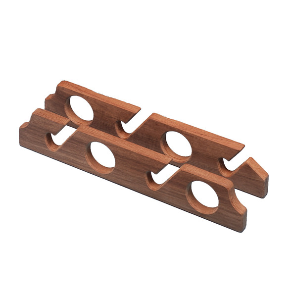 Whitecap Teak Four-Rod Storage Rack - Pair [60612]