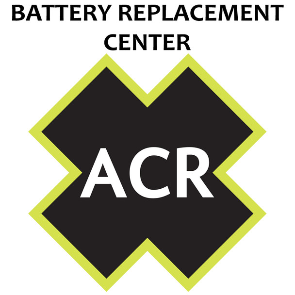 ACR FBRS 2880 & 2881 Battery Replacement Service - PLB-375 ResQLink/ResQLink+ [2880.91]
