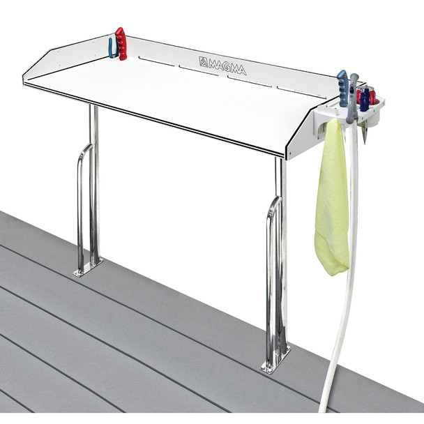 """Magma Tournament Series Cleaning Station - Dock Mount - 48"""" [T10-449B-HDP]"""