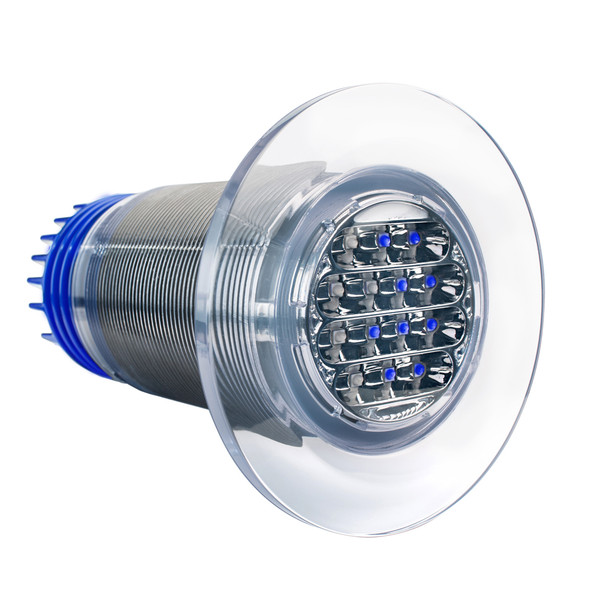 Aqualuma 18 Tri-Series Gen 4 Underwater Light - Blue\/White [AQL18BWG4]