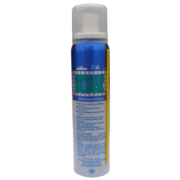 Corrosion Block Liquid Pump Spray - 4oz - Non-Hazmat, Non-Flammable  Non-Toxic [20002]