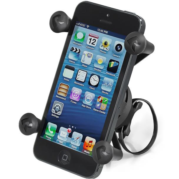 RAM Mount EZ-ON\/OFF Bicycle Mount w\/Universal X-Grip Cell Phone Holder [RAP-274-1-UN7U]