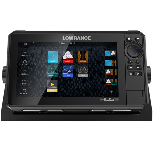 Lowrance HDS-9 LIVE with Active Imaging 3-in-1 Transom Mount  C-MAP Pro Chart [000-14422-001]