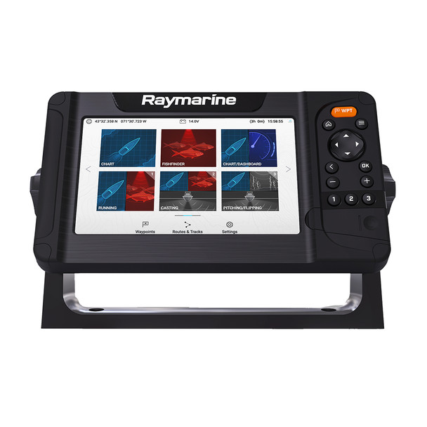 Raymarine Element 7 HV w/Nav+ US  Canada Chart - No Transducer [E70532-00-NAG]