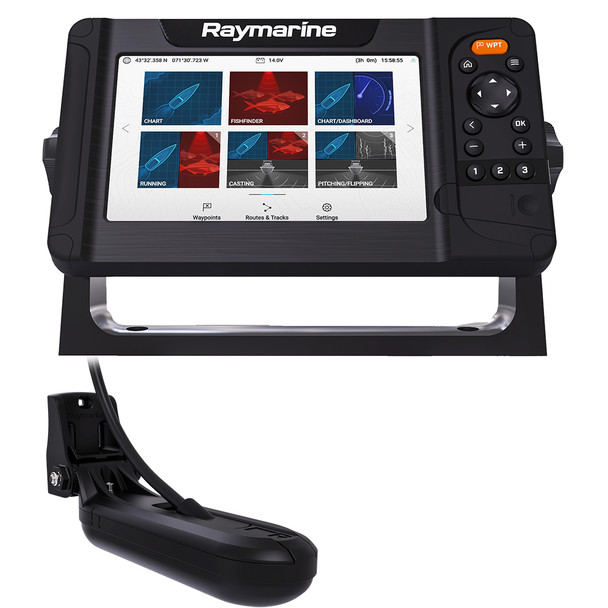 Raymarine Element 7 HV Combo w/HV-100 Transducer  Nav+ US  Canada Chart [E70532-05-NAG]