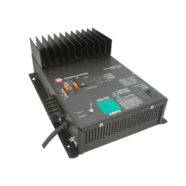 Analytic SystemsAC Charger 2-Bank 60A, 12V Out, 110V In, w\/Digital Volt\/Amp Meter [BCA1000V-110-12]
