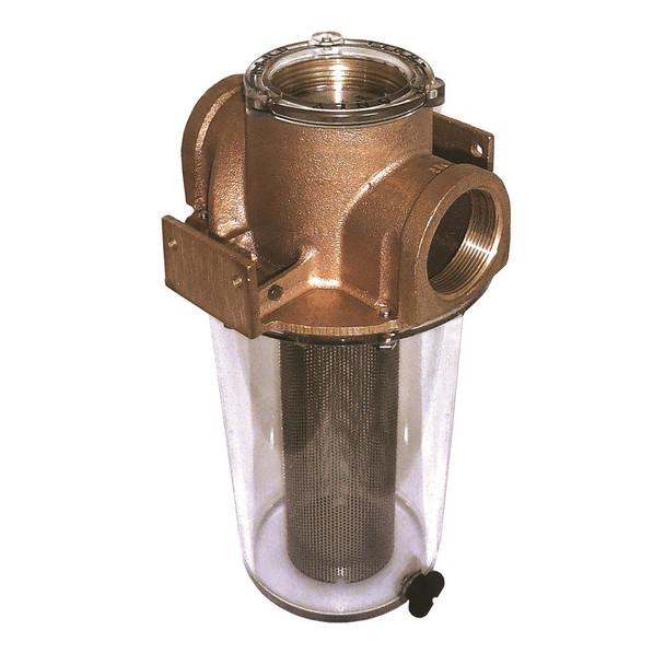 "GROCO ARG-2500 Series 2-1\/2"" Raw Water Strainer Stainless Steel Basket [ARG-2500-S]"