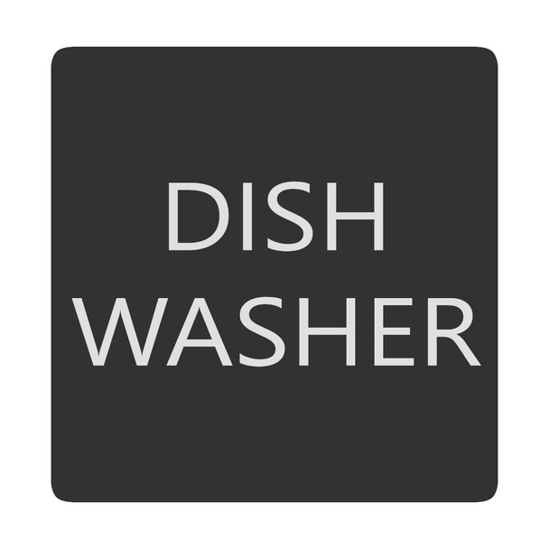 Blue Sea 6520-0138 Square Format Dish Washer Label [6520-0138]