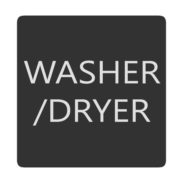 Blue Sea 6520-0436 Square Format Washer \/ Dryer Label [6520-0436]