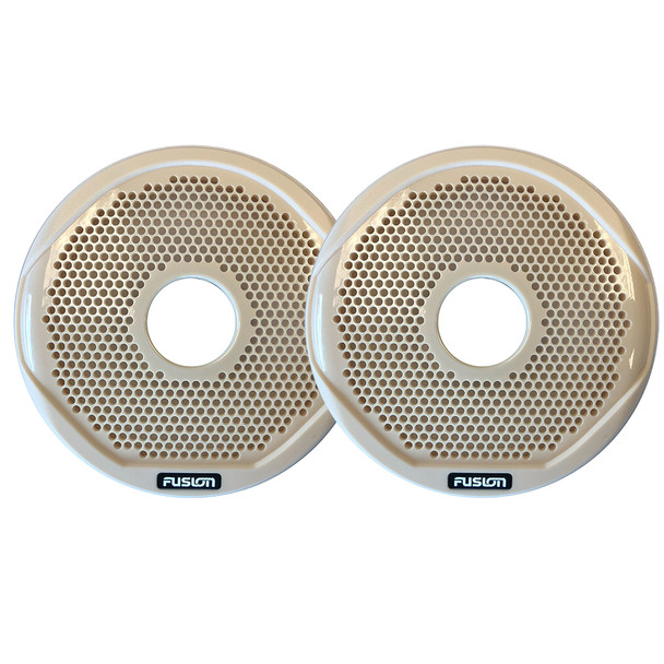 """FUSION MS-FR6GBG - 6"""" Grill Covers - Beige f\/FR-Series Speakers [010-01648-00]"""