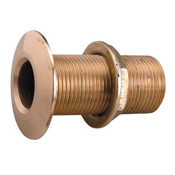 "Perko 1-1\/4"" Thru-Hull Fitting w\/Pipe Thread Bronze MADE IN THE USA [0322DP7PLB]"