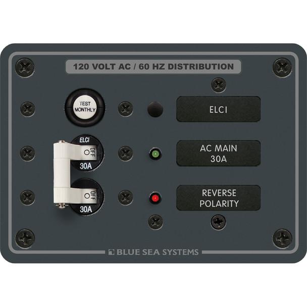 Blue Sea 8100 ELCI GFCI Panel [8100]