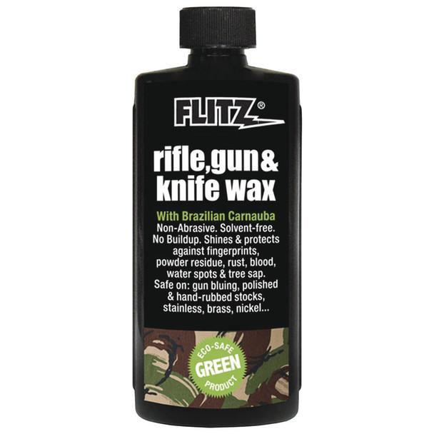 Flitz Rifle, Gun & Knife Wax - 7.6 oz. Bottle [GW 02785]