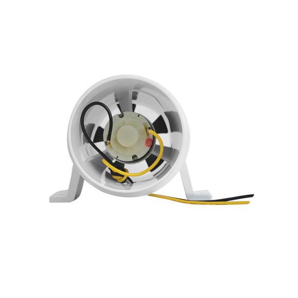 Attwood Turbo 3000 Series In-Line Blower - 12V - White [1731-4]