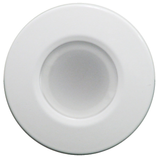 Lumitec Orbit - Flush Mount Down Light - White Finish - 4 Color Blue\/Red\/Purple\/White Non Dimming [112520]