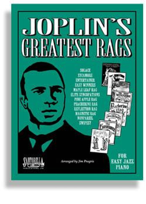 Joplin's Greatest Rags for EZ Piano with CD