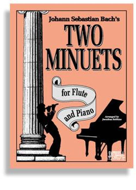 Bach's Two Minuets For Flute & Piano