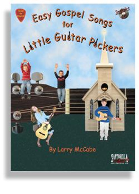 Easy Gospel Songs for Little Guitar Pickers with CD