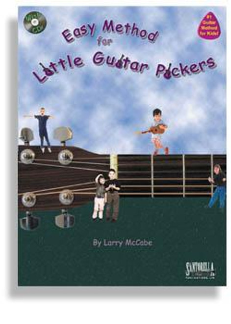 Easy Method For Little Guitar Pickers with CD